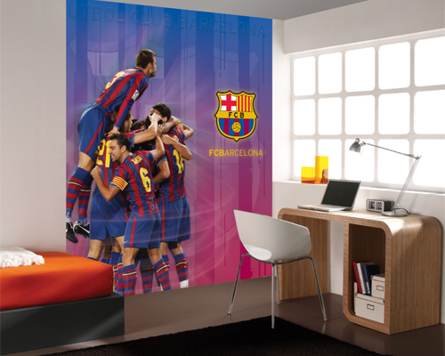 Papel pintado fotomurales futbol club barcelona for Papel pared barcelona