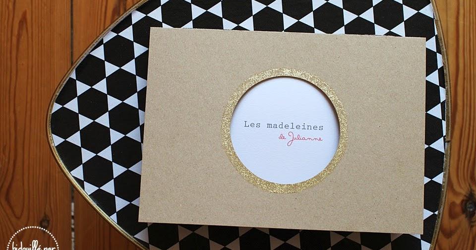 bidouill par lili du c t de l 39 atelier les madeleines de julianne. Black Bedroom Furniture Sets. Home Design Ideas