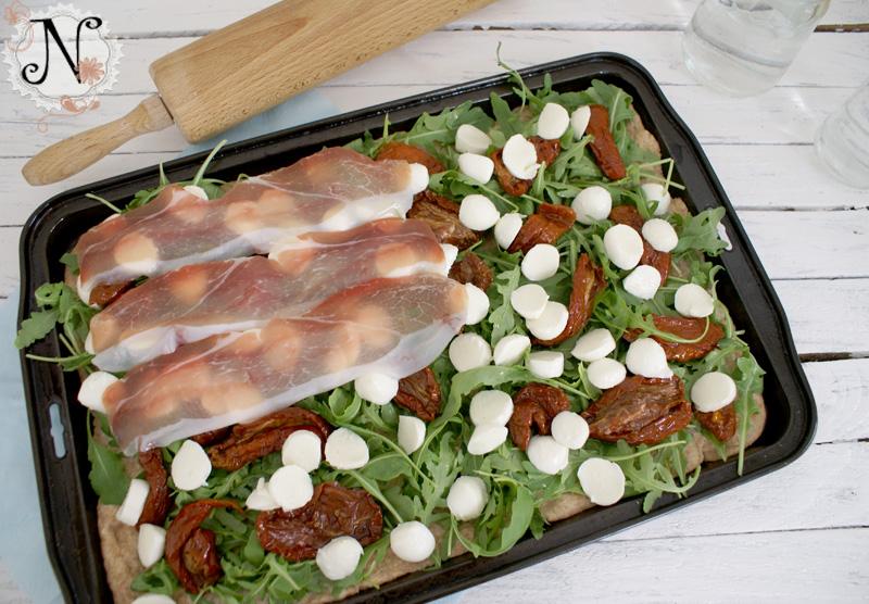 mozzarella tomato basil frittata arugula mozzarella tomato on focaccia ...
