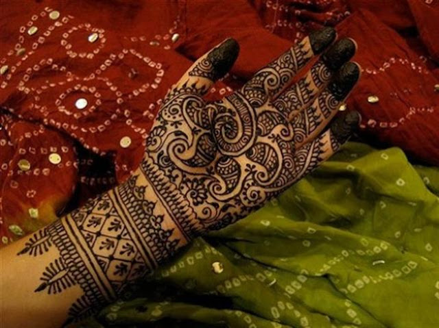 Stylish Rajasthani Hand Mehndi designs