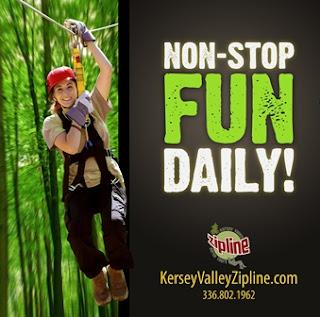 kersey valley zip line