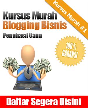 Kursus Blog Bisnis Murah