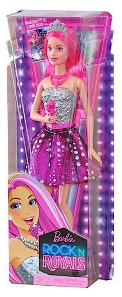 JUGUETES- Barbie in Rock'n Royals - Courtney | Muñeca - Doll   Toys | Producto Oficial Película | Mattel CKB66 | A partir de 3 años