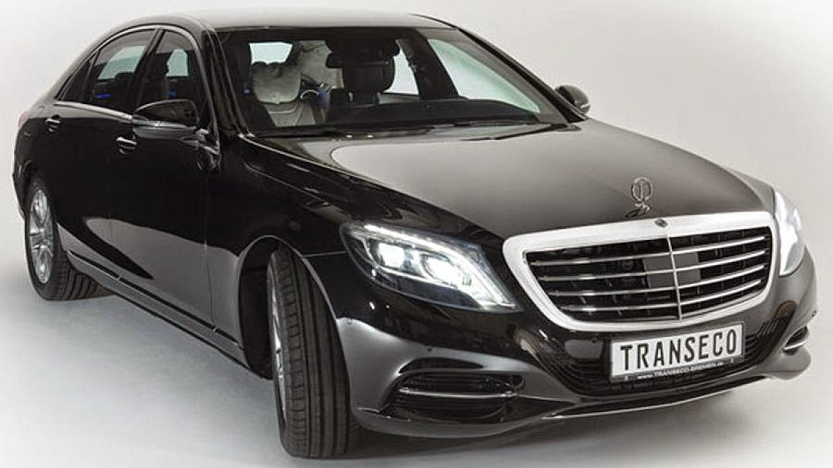 2014 Mercedes-Benz S-Class gets armored