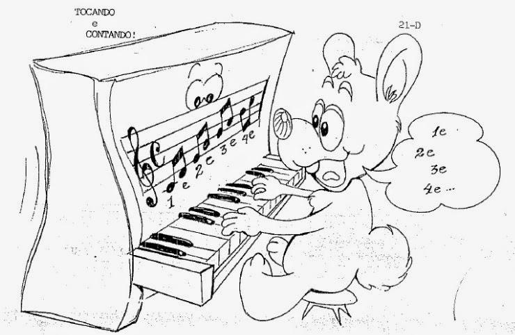 Conhecido Teoria Musical para crianças CR66
