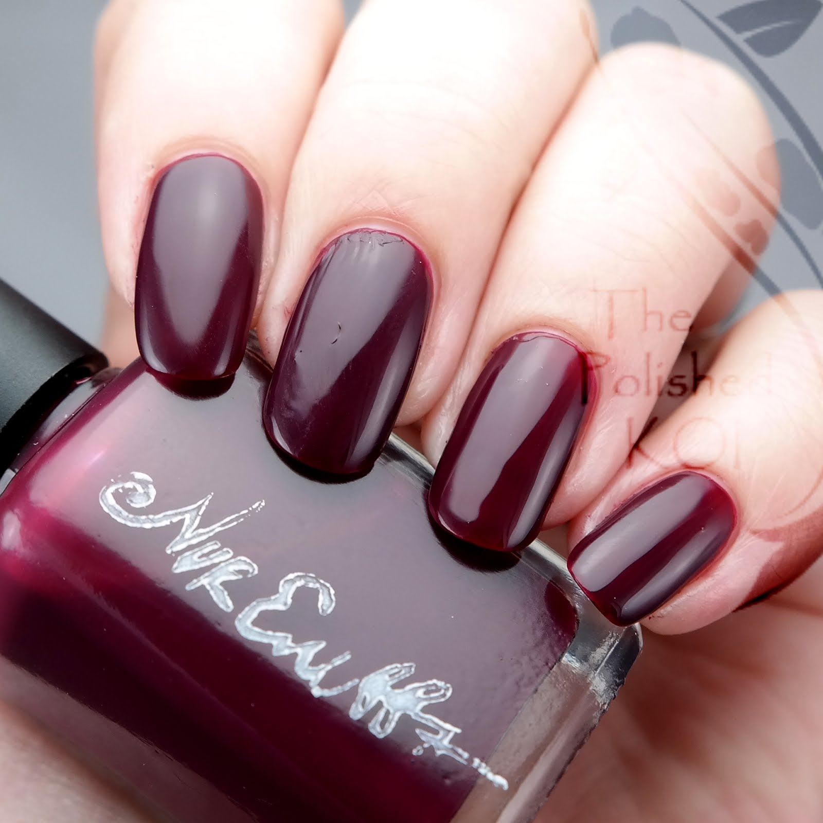 The polished koi swatch art nvr enuff polish berry its squishy looking which i was surprised about its sort of a creamy jelly and builds up in opacity as you add more coats at 2 it still showed my nail prinsesfo Images