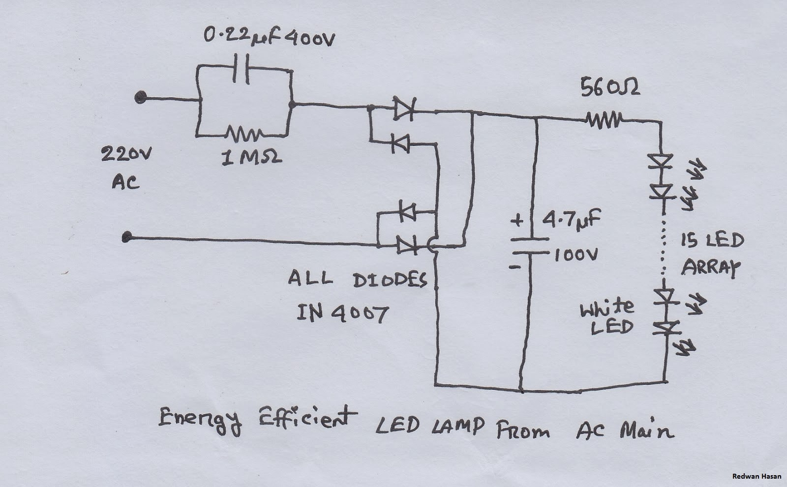 Led table lamp circuit diagram best inspiration for table lamp led based lamps so here is the diagram of a led based table lamp geotapseo Images