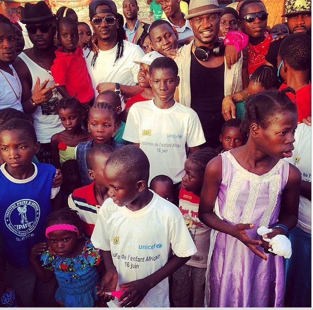 P-Square gives back to society in Niger Republic(Photos)4