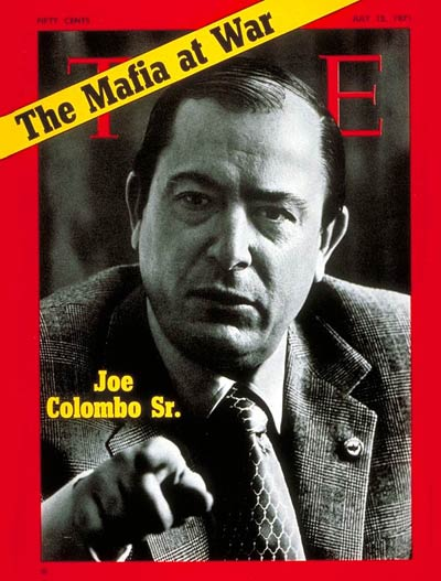 mafia 39 s and organized crime are you connected joseph colombo the colombo family boss. Black Bedroom Furniture Sets. Home Design Ideas