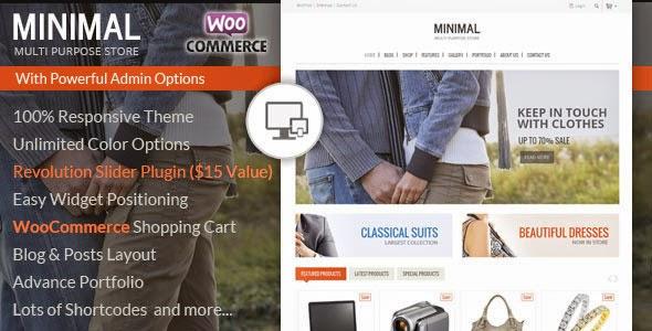 Minimal Multi Purpose – WooCommerce Theme