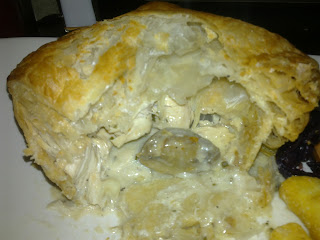 Fuller's Ale and Pie House Chicken, Mushroom and Silver Onions Pie