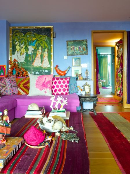 Moon To Moon The Bohemian Jewel Toned Home Of Pippa