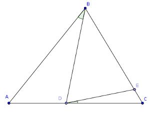 Triángulo dividido