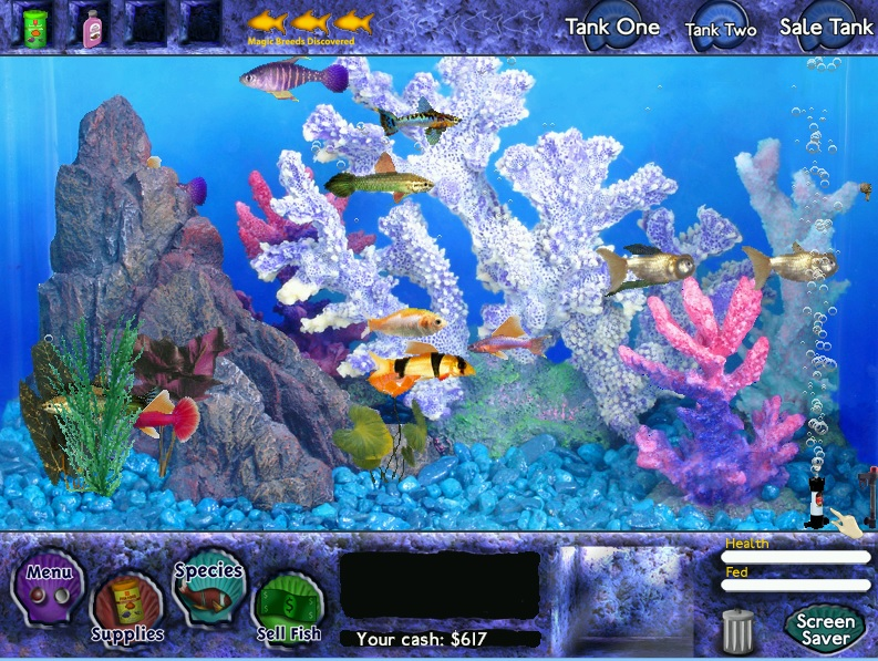 Something 39 s fishy a series of ocean based reviews fish for Fish tycoon 2