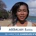 Miss Mayotte 2014. Sabda ABDALLAH de Labattoir, la candidate numéro 2