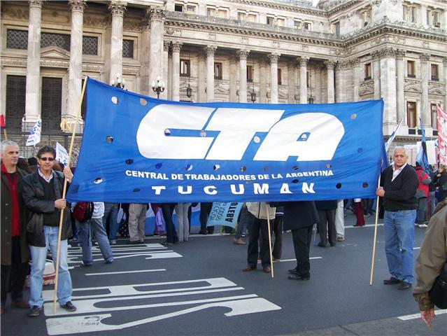 La CTA Tucuman adhiere a la medida nacional de paro por 36 horas
