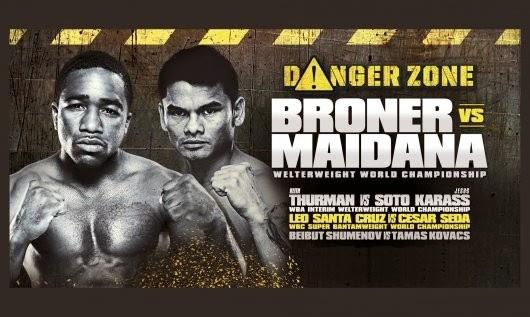 Adrien Broner vs Marcos Maidana en Vivo – Boxeo 2013