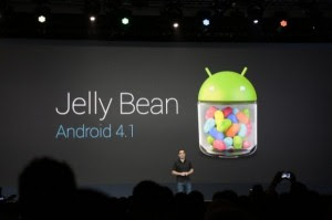 Google I/O : Android 4.1 Jelly Bean svelato!