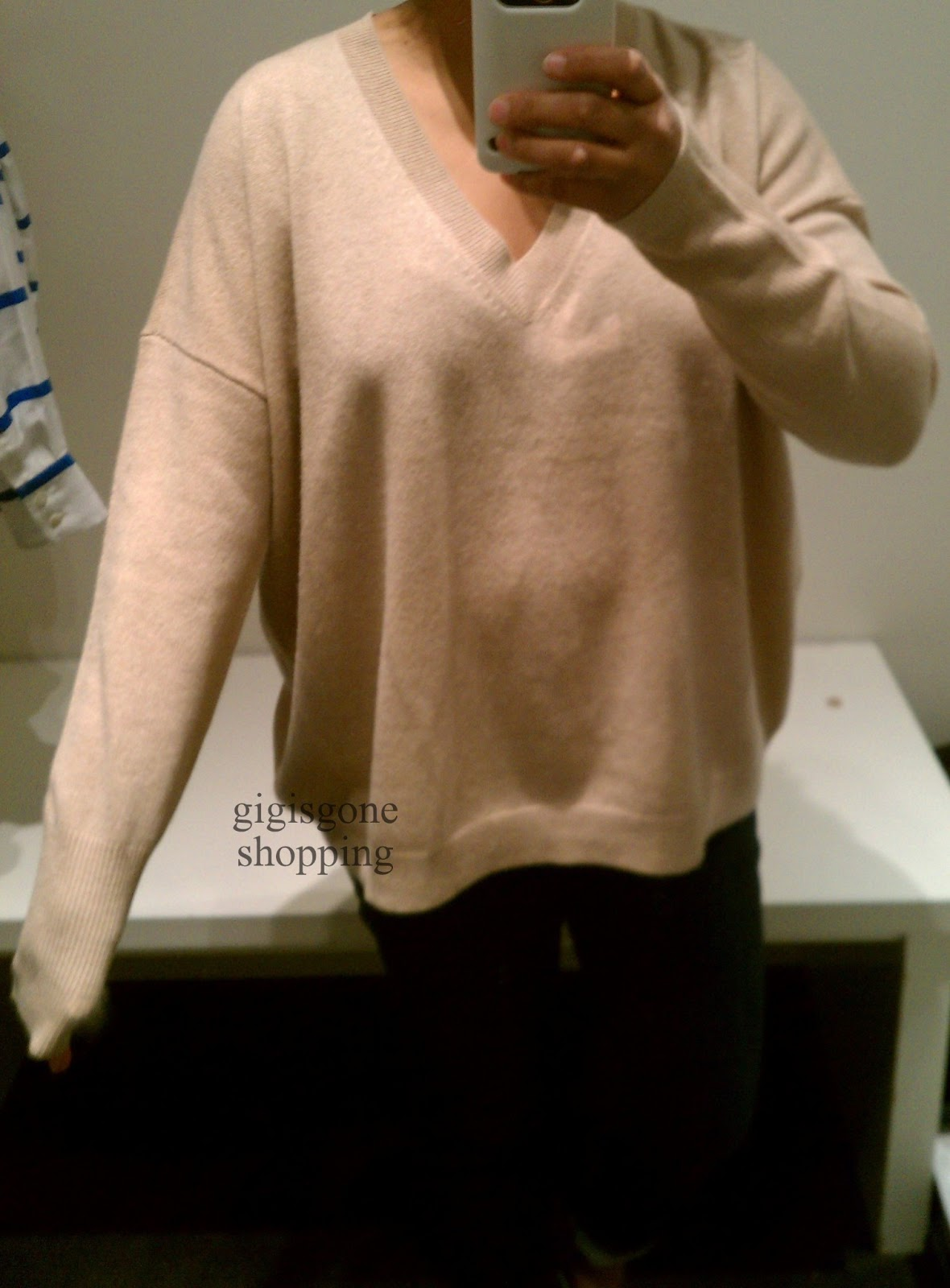 J Crew Collection Cashmere Boyfriend Sweater Review - Sweater Grey