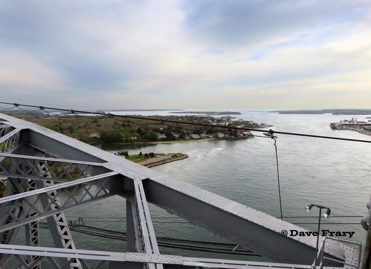 Trackside Scenery The Railroad Bridge Over The Cape Cod Canal