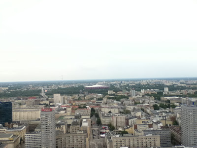 View of Warsaw's National Stadium