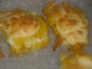 Bacalao gratinado mayonesa y patatas