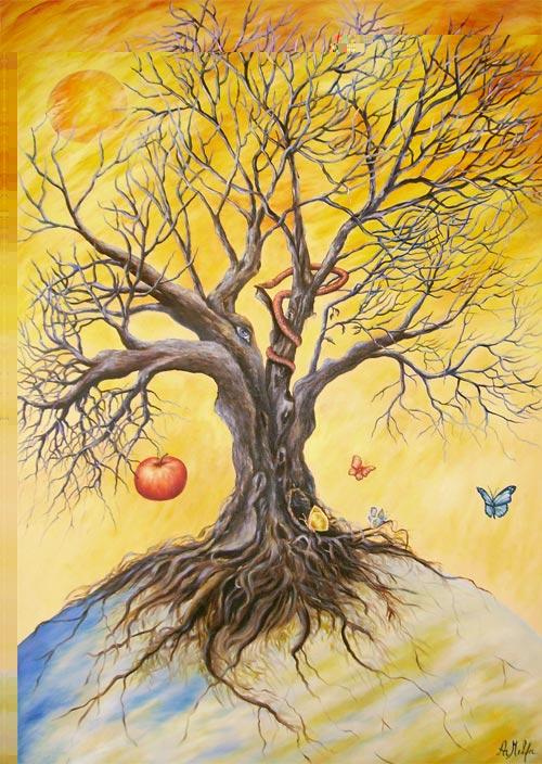 Oltre la storia nell 39 animo antico simbologia dell 39 albero for Albero della vita significato