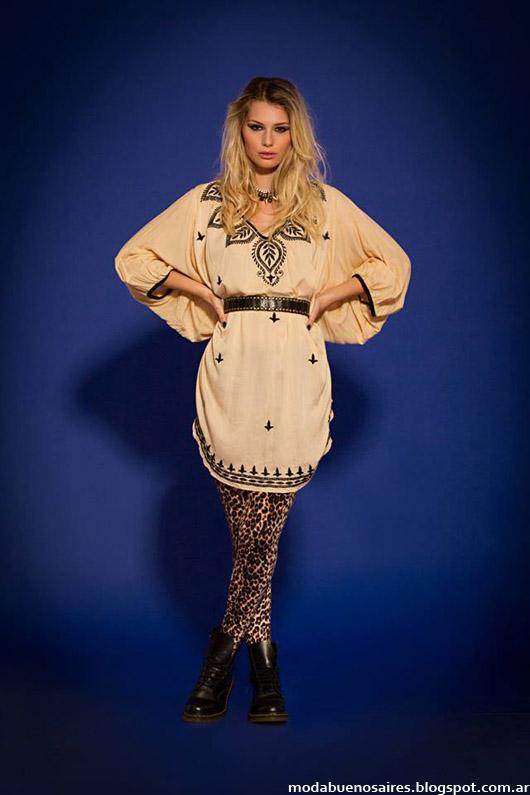 Blusas y túnicas de moda otoño invierno 2014. Moda invierno 2014.
