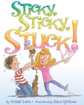 http://www.amazon.com/Sticky-Stuck-Michael-Gutch/dp/0061998184