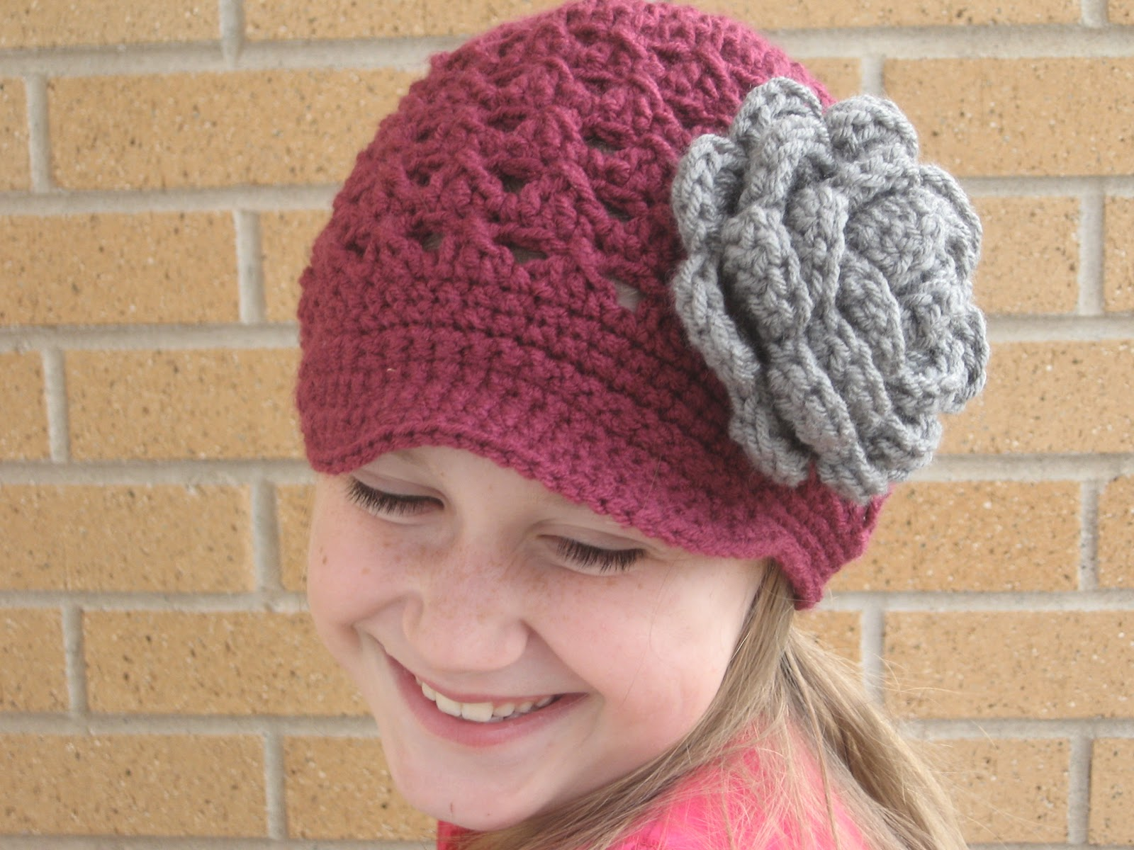 Free Crochet Pattern For Toddler Newsboy Hat