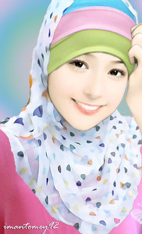 Muslimah, diamnya saja cantik dengan ia menjaga aurat dan akhlaknya ...