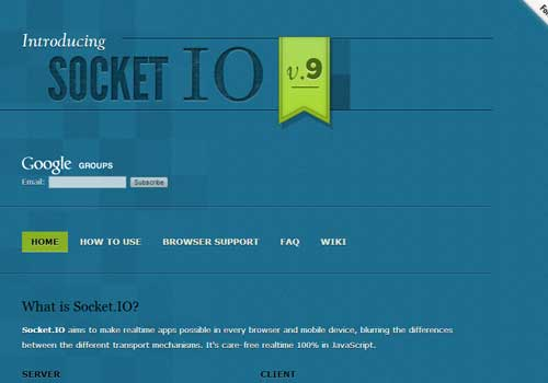 Socket ~ 43 Useful and Time Saving Web Development Kits and Frameworks