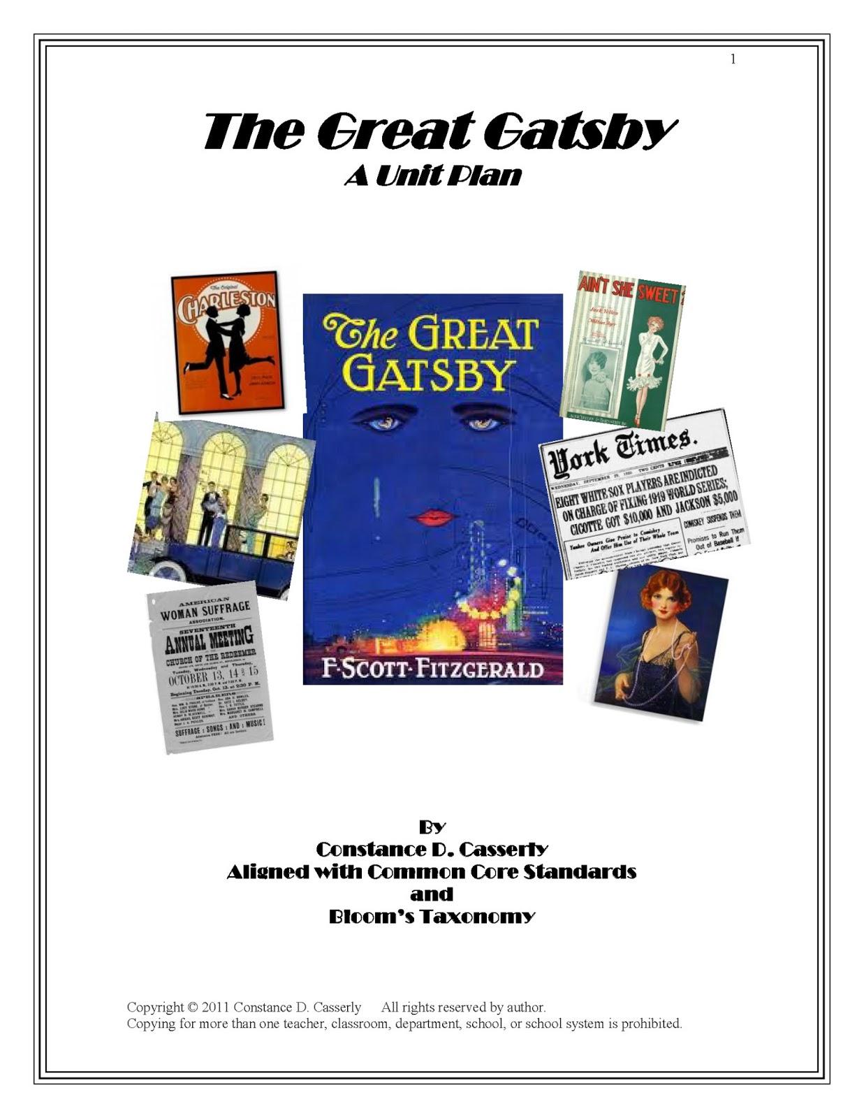 good essay questions great gatsby