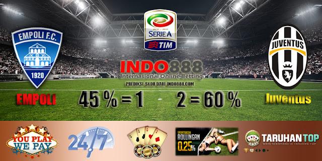 Prediksi Skor Empoli vs Juventus 8 November - Indo888.com
