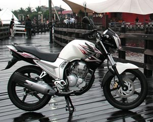Motorcycle  new Yamaha Scorpio Z