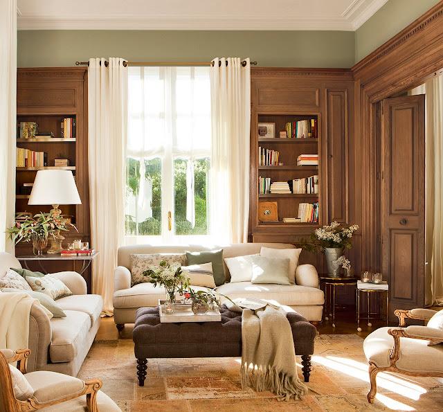 Interior învelit în căldura lemnului