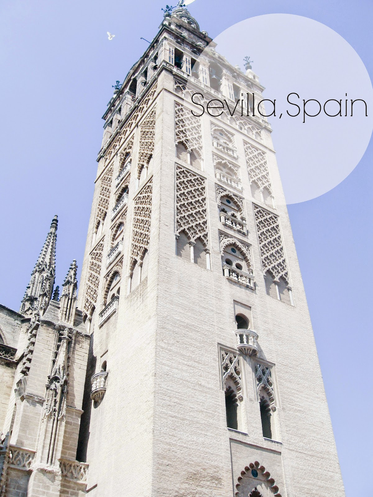 Geralda towers near Seville Cathedral SEVILLE, SPAIN