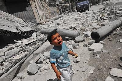 Siria guerra civil Copolitica