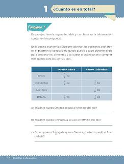 Apoyo Primaria Desafíos matemáticos 5to grado Bloque I lección 1 ¿Cuánto es en total?