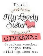 my lovely sister giveaway