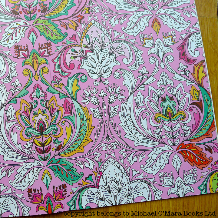 perfect patterns is a follow on from my first colouring book pretty patterns which you might remember from a previous posthere - Pattern Colouring Books
