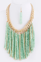 Splenderosa Fringe Necklace