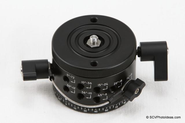 Updated Sunwayfoto DDP-64M Panoramic Indexing Rotator