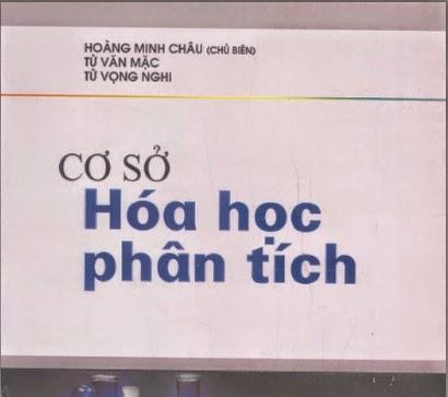 cơ sở hóa học phân tích của Hoàng Minh Châu