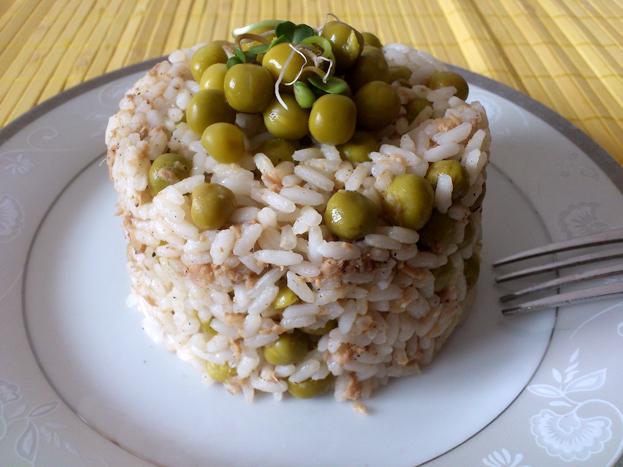 Ryż z tuńczykiem