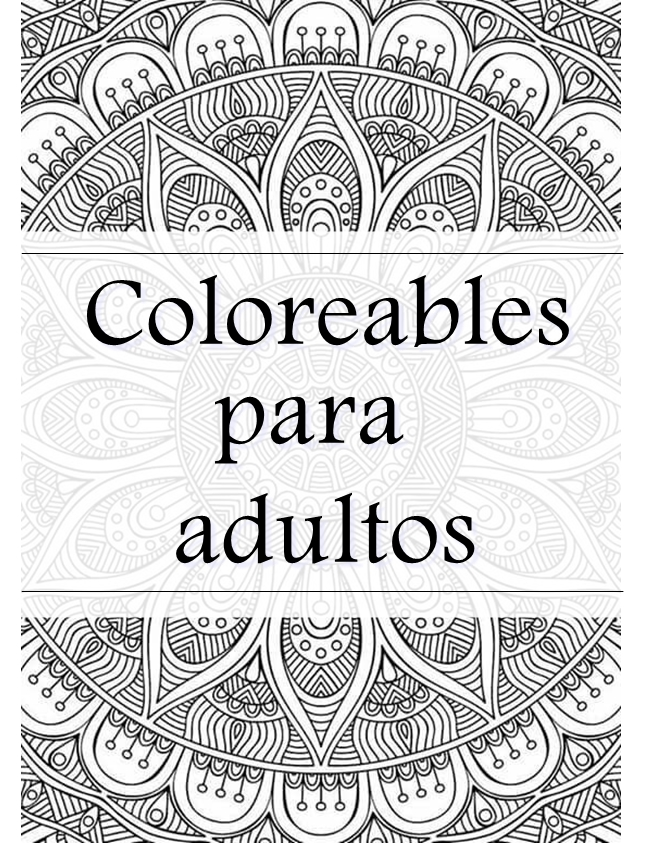 Descargables: Coloreables para adultos | Alquimia Deco