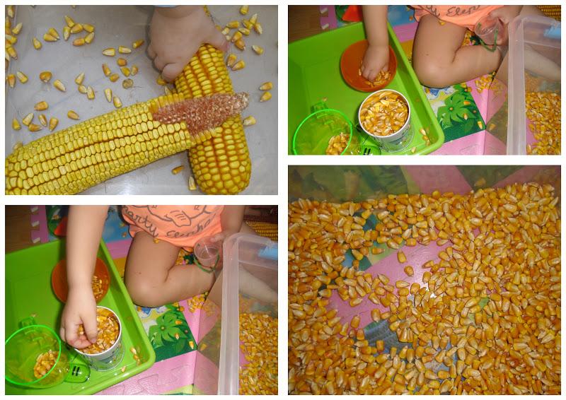 La jirafa: 124 - Desgranamos maíz y hacemos un gallinero
