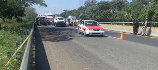 Sujetos armados emboscan y matan a dos policías ministeriales de Coatzacoalcos