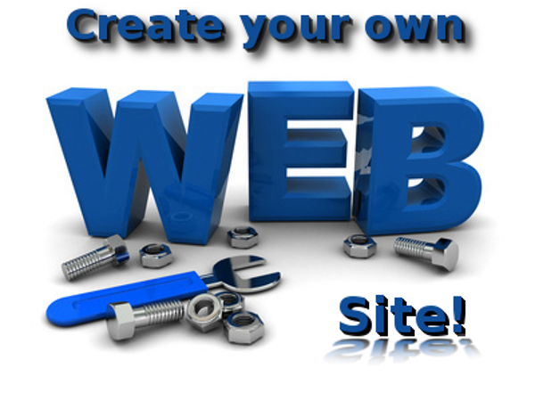 making your own free web site - 3