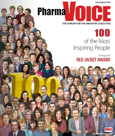 100 inspiring people in the life sciences